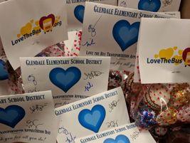 Glendale (Ariz.) Elementary School District #40 kicked off its Love the Bus festivities on Feb....