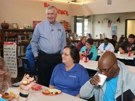 Award-winning bus drivers and safety assistants in the Onslow County (N.C.) Schools district...