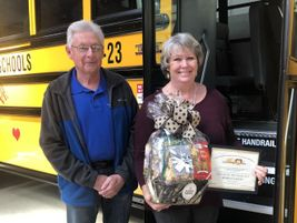 Arab (Ala.) City Schools Transportation Director Wendell Smith nominated school bus driver,...