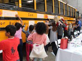 Teacher Lori Wilson's third grade class from Riverchase Elementary School joined Transportation...