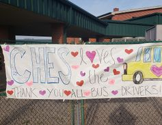 Students and staff at Corinth-Holders Elementary School in Zebulon, N.C., worked together to...