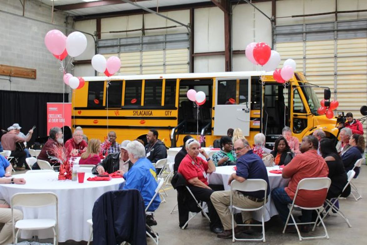 In Alabama, school bus dealership Transportation South held a Love the Bus awards luncheon on...