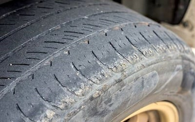 Old and unfit part-worn tires are a danger on European roads. Used tires that pass inspection are not. Photos Courtesy of TyreSafe UK