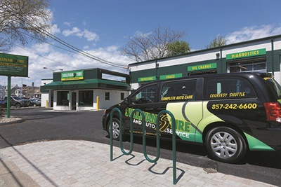 Sullivan Tire Co. tries to remodel three stores a year, according to Joe Zeccheo, chief operating officer. The company refreshed its stores in Somerville, Mass., last year.