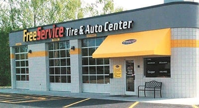 Free Service Tire opened its second location in Johnson City, Tenn., the city where it was founded in 1919. A quick oil change outlet was renovated into a nine-bay store.