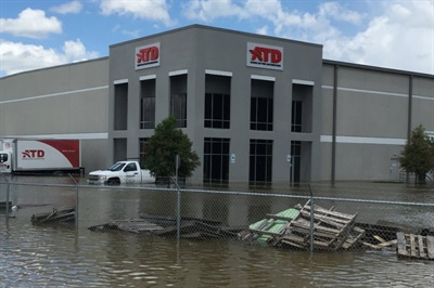 This photo from ATD's gofundme.com page shows the devastation from the recent flooding in Baton Rouge.