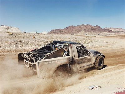 """Kenda dealers recently raced on Klever R/T tires at the company's """"Light Truck Bootcamp"""" in Las Vegas in partnership with VORE (Vegas Off-Road Experience)."""
