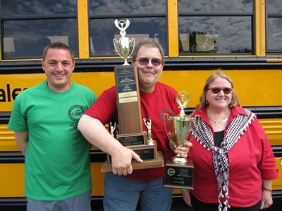 Dan Farley, center, took home first place in the Transit category.