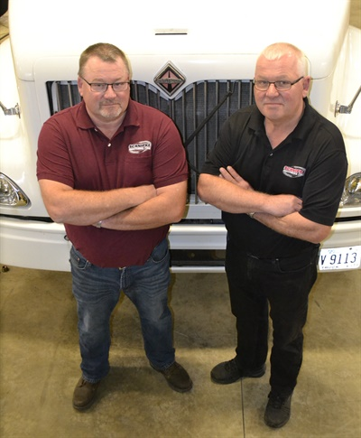 """We understand our customers,"" says Kris (left) and Keith Schnipke, inside their newly expanded shop."