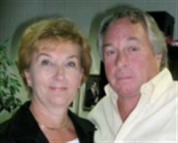 Bill with his wife Sandi. Bill says the smartest thing he has ever done is marry Sandi and making her a part of the business.