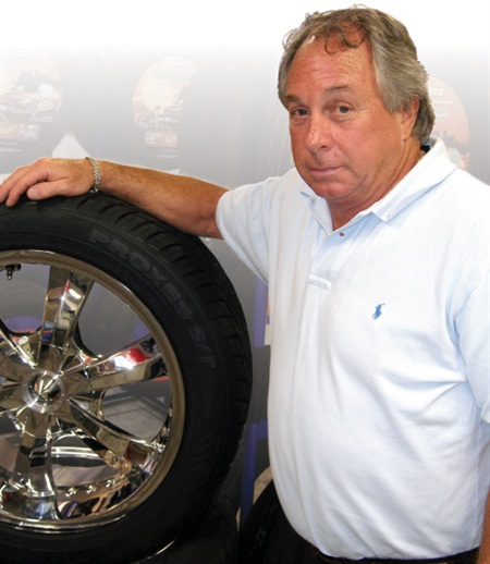 """Toyo Tires contratulated Williams with a note that said he had """"an unwavering commitment to customer service."""""""