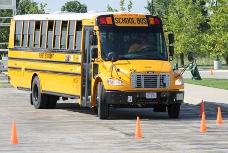 The 2017 School Bus Driver International Safety Competition was held at Hamilton Southeastern Schools in Fishers, Indiana. Photo courtesy NSTA