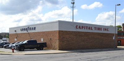 Pictured above is the front end of the main warehouse in Toledo, Ohio.