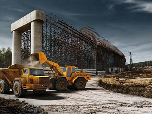 Continental is seeing growth in demand for 25-inch radials in its earthmoving segment and a trend toward more specialized types of 25-inch tires. Photo courtesy of Continental