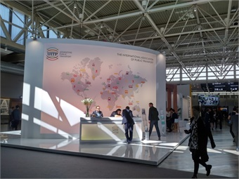 UITP Global Congress was held in Stockholm, Sweden in June. All photos courtesy Giles Bailey
