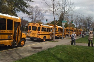 SBF's 2013 Special-Needs Survey found that on average, nearly one quarter (23%) of the buses in respondents' fleets are small buses (30 passengers or fewer). Photo courtesy of West County Transportation Agency