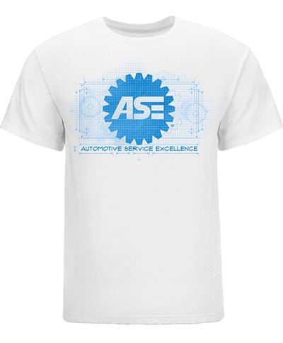 Some of the new designs feature the ASE logo using today's current trends such as technical blueprints, camouflage, and distressed, in bright as well as traditional colors.