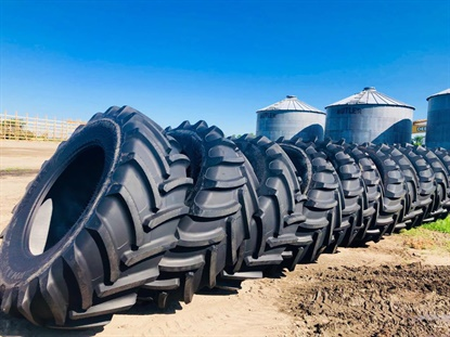 CEAT will unveil the Farmax R70 tire in size 710/70R42 at the 2019 Farm Progress Show.