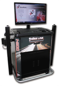 Bee Line says it has engineered the LC7500 heavy-duty aligner to provide the lowest cost of ownership of any system on the market today.
