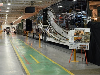 Founded in Quebec in 1924 by cabinet and wooden bus builder, Eugene Prevost, the company is the oldest coach manufacturer in North America.Photos courtesy Prevost
