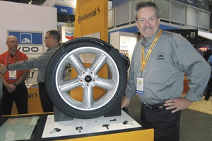 Dave Maclay of Continental Commercial Vehicles and Aftermarket says 3 million applications will be added to the TPMS Redi-Sensor program in the spring of 2017.