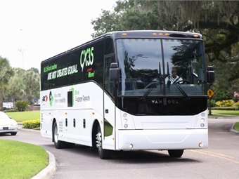 Both CX Series models will be offered with Proterra E2 battery technology. Introduced in early 2000, the CX product quickly became a market leader, precipitating the need for an additional Van Hool production facility to keep pace with growing orders and meet market demand.
