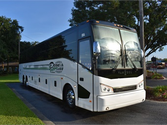 Dean Trailways operates 34 vehicles ranging from black car service to 56-passenger motorcoaches.ABC Companies