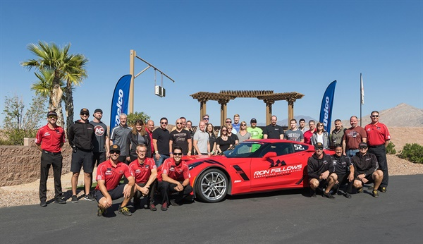 ACDelco winners enjoyed a day of high-performance driving at Ron Fellows Performance Driving School at Spring Mountain Motorsports Resort.