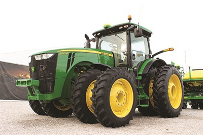 Lower tire pressures are needed for mechanical front-wheel drive tractors in row crop applications.