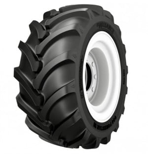 The Alliance 644 has a stabilizer bar beneath the tread to improve traction and tire life.