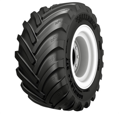 The Agriflex+ 377 from Alliance is available in three sizes:VF 750/50R26, VF 1050/50R32 and VF 1000/50R25.