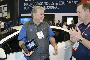 All the latest auto service tools will be featured on the trade show floors of the SEMA Show and AAPEX during Automotive Aftermarket Industry Week.