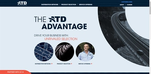 At its first North American Business and Innovation Summit, ATD launched its redesigned ATD and National Tire Distributors websites.