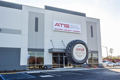 Alliance says its new warehouse in Georgia is optimized for efficiency. It  contains the company's Alliance, Galaxy and Primex brands as well as its new Constellation truck tire line.