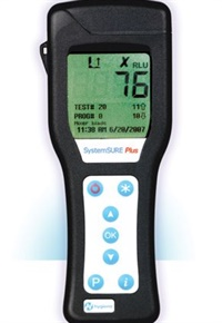 Shown here is an ATP measurement system from Hygiena, a company that delivers microbial detection solutions. Photo courtesy Hygiena