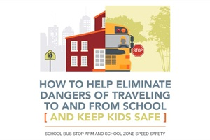 How to Help Eliminate Dangers of Traveling to and from School (and Keep Kids Safe) presents the dangers children face getting to and from school, and details some of the successes schools and cities are having with new solutions to change driver behavior, company officials said.