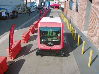 CoMotion LA 2019 offers both conference participants and the general public something never seen: the world's first new mobility corridor.CoMotion
