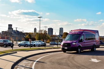 Akron METRO won $75,000 from the Paradox Prize to test its FlexRide program, a door-to-door, on-demand service connecting workers to job hubs in northern Summit County.