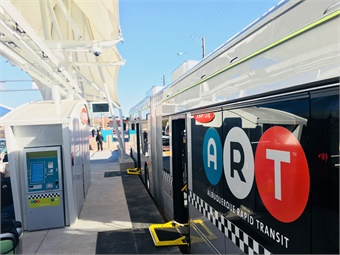 Albuquerque Rapid Transit operated by ABQ Ride. Photo: ART
