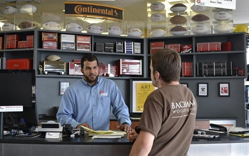 Alex Feliz, service advisor at Redwood General Tire, says the number of customers who own cars that require ultra-high performance tires has more than doubled. The dealership considers a V-rated tire to be high performance and W and Y speed ratings to be UHP.