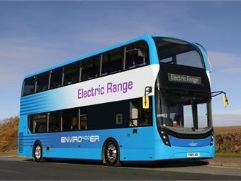Brighton & Hove is the first UK bus operator to order the Enviro400ER.