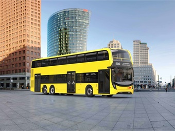 In a further step, BVG's current plans envisage a fleet of 200 Enviro500 on the streets of Berlin in the near term. Photos courtesy Alexander Dennis