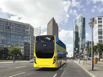 Alexander Dennis's Enviro500 vehicles are the world's leading three-axle double deck buses, offering fuel efficiency thanks to a lightweight aluminum body structure.