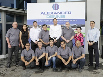 Alexander Dennis's parts business in Singapore has grown significantly over the last couple of years and this new facility will serve as a hub to the South East Asian customer base.
