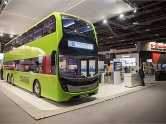 Alexander Dennis Ltd. Enviro500 concept bus.