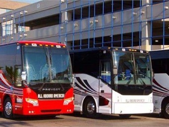 Mesa, Ariz.-based All Aboard America!, is one of the companies owned by AAA! Holdings Inc. Photo: All Aboard America!