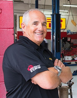 Alpio Barbara is Modern Tire Dealer's 24th Tire Dealer of the Year. MTD and our program's supporting advertisers are donating to a pair of charities on Barbara's behalf: the San Mateo County Sheriff's Activities League and the Kainos Home and Training Center for the Developmentally Disabled. Photo credit: J. Ennis Kirkland