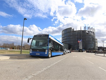 Since the prototype was presented in March 2017, more than 24,000 miles have been covered in real operating conditions by four test vehicles en France and in Europe. Alstom/Jean Schweitzer