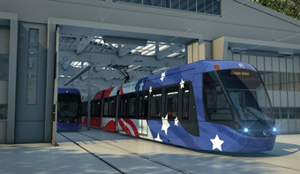 Alstom's Citadis tram.