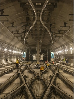 Alstom signaling work for Hong Kong's MTR South Island Line. Photo: Alstom-Arnaud Février